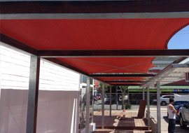 custom commercial shade sails