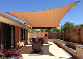 call us for shade sail installers